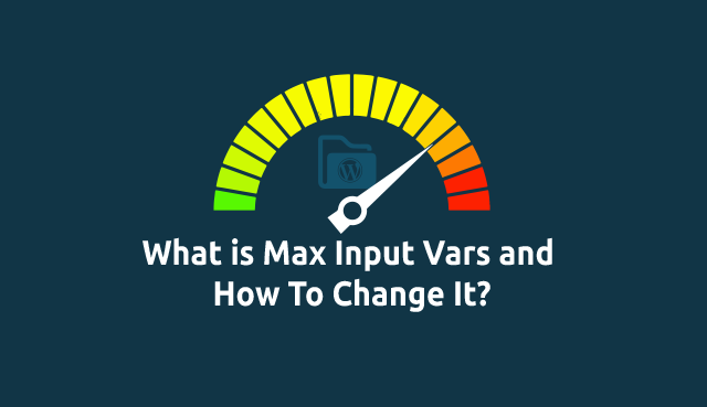 How to increase max_input_vars